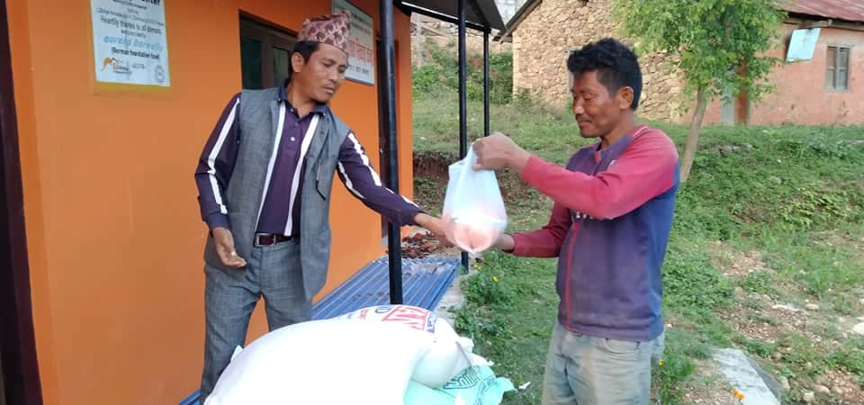 Relief distribution during COVID-19 Pandemic (Campaign)