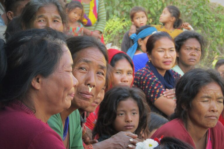 MAMI Foundation distributes blankets in Raksirang Rural Municipality ward # 2 Nepal as possible 'coldwave' time is approaching.