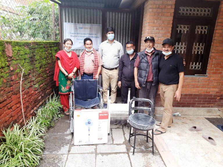 MAMI Foundation has helped Rakshirang Hospital during COVID-19 surge